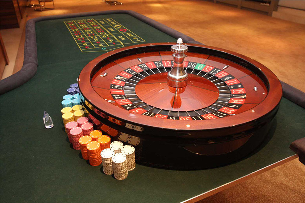 Roulette Tables | Casino Hire in London, Essex & Hertfordshire